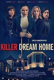 Robin Riker, Maiara Walsh, Eve Mauro, Autumn Federici, Mayra Leal, Jon Klaft, Jake Helgren, John DeLuca, and Brooke Butler in Killer Dream Home (2020)