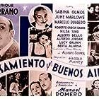 Roberto García Ramos, Niní Marshall, Sabina Olmos, Marcelo Ruggero, and Enrique Serrano in Casamiento en Buenos Aires (1940)