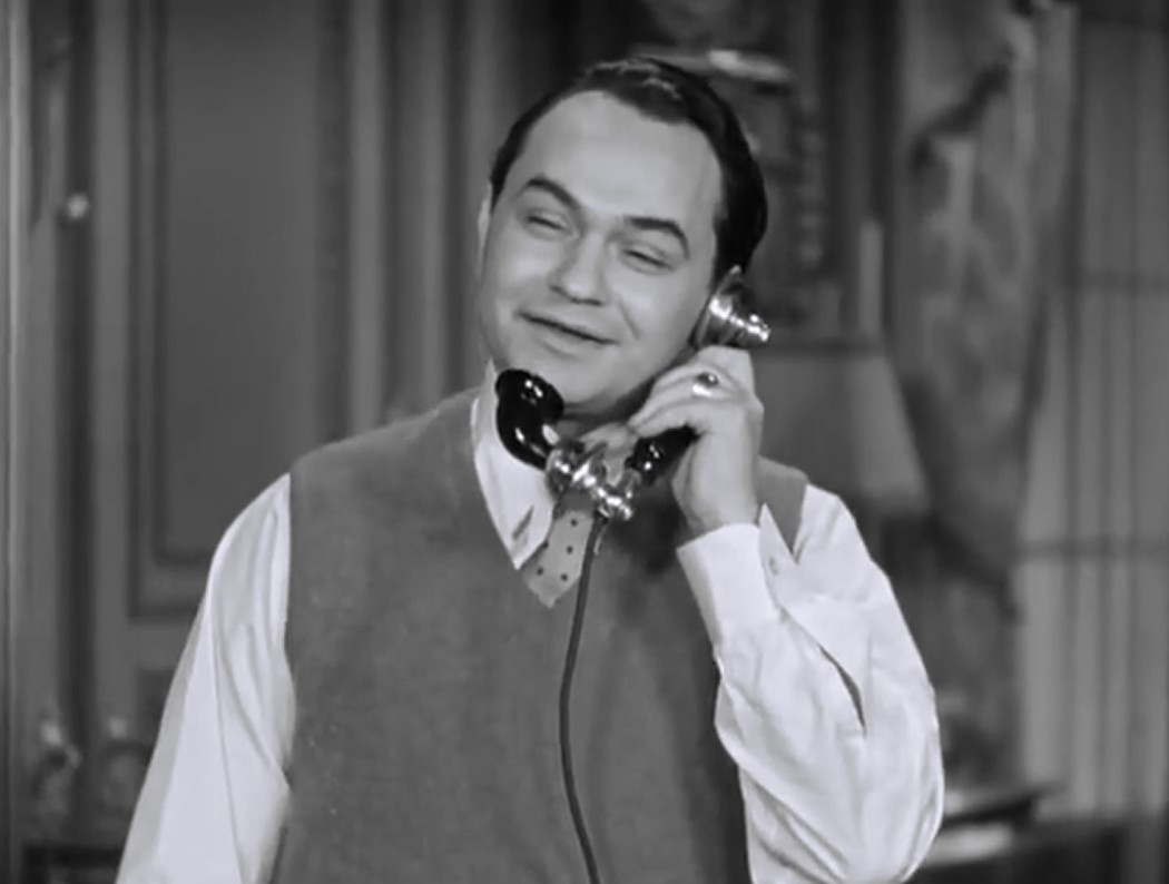 Edward G. Robinson in The Little Giant (1933)