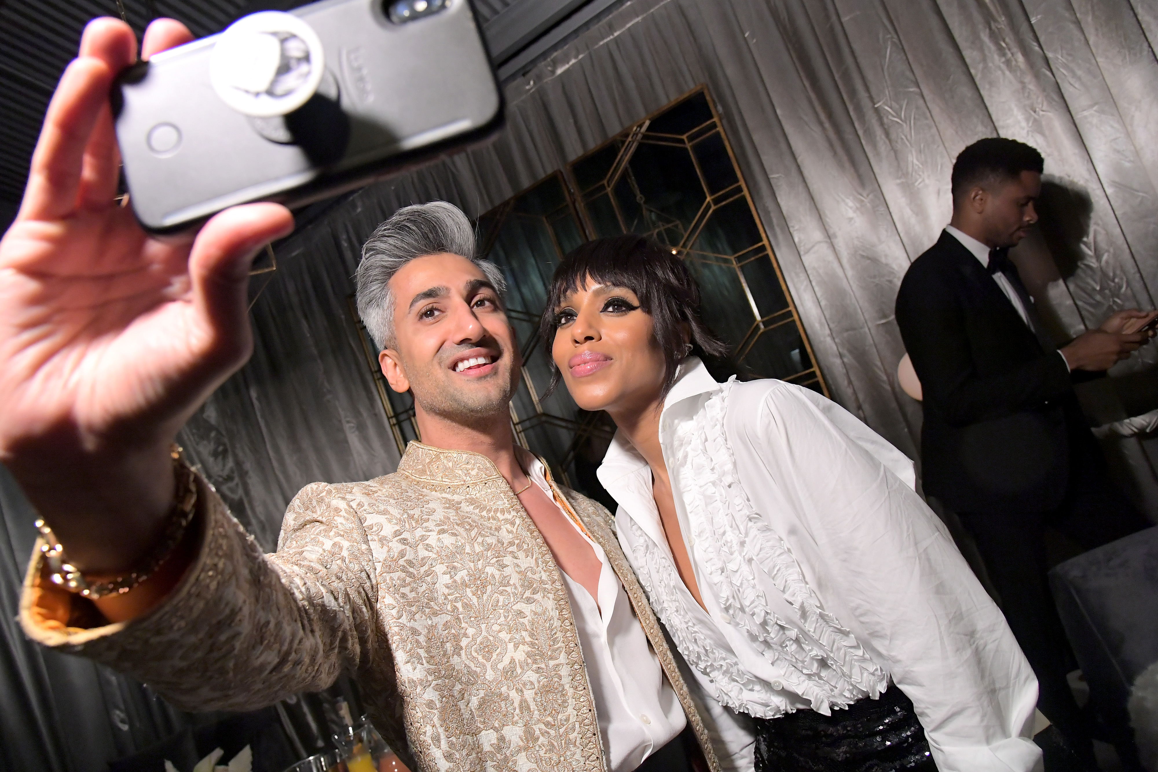 Kerry Washington and Tan France at an event for The 71st Primetime Emmy Awards (2019)