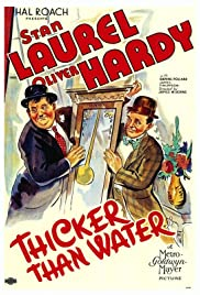 Thicker Than Water (1935) Poster - Movie Forum, Cast, Reviews