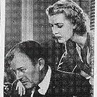Anita Louise and Willard Robertson in Main Street Lawyer (1939)