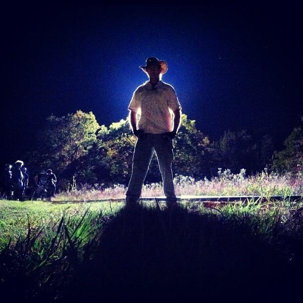 Night shoot The Jogger