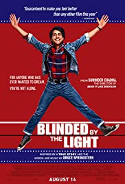 Movie Poster for Blinded by the Light.