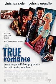 Brad Pitt, Patricia Arquette, Gary Oldman, Christian Slater, Dennis Hopper, and Christopher Walken in True Romance (1993)