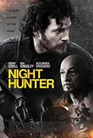 Ben Kingsley and Henry Cavill in Night Hunter (2018)