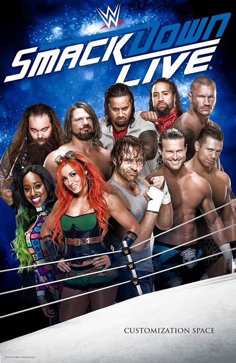 WWE Friday Night Smackdown (14 August 2020) English 720p HDRip 930MB | 260MB Download