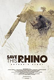 Save This Rhino Poster
