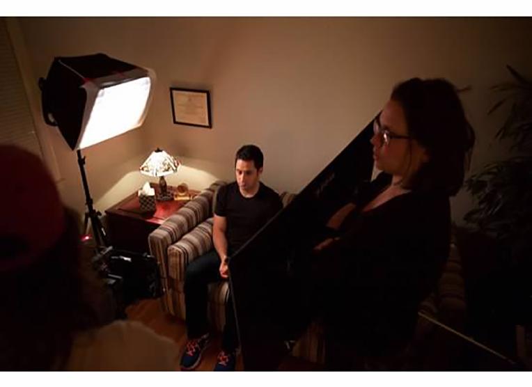 Shevy Gutierrez and Susan W. Caminez in The Job (2020)