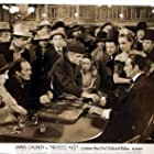 James Cagney, Ricardo Cortez, Don Barclay, Wong Chung, Jack Curtis, Lili Damita, Karl Hackett, and Walter Long in Frisco Kid (1935)