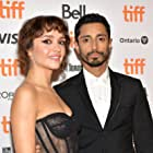 Riz Ahmed and Olivia Cooke at an event for Sound of Metal (2019)