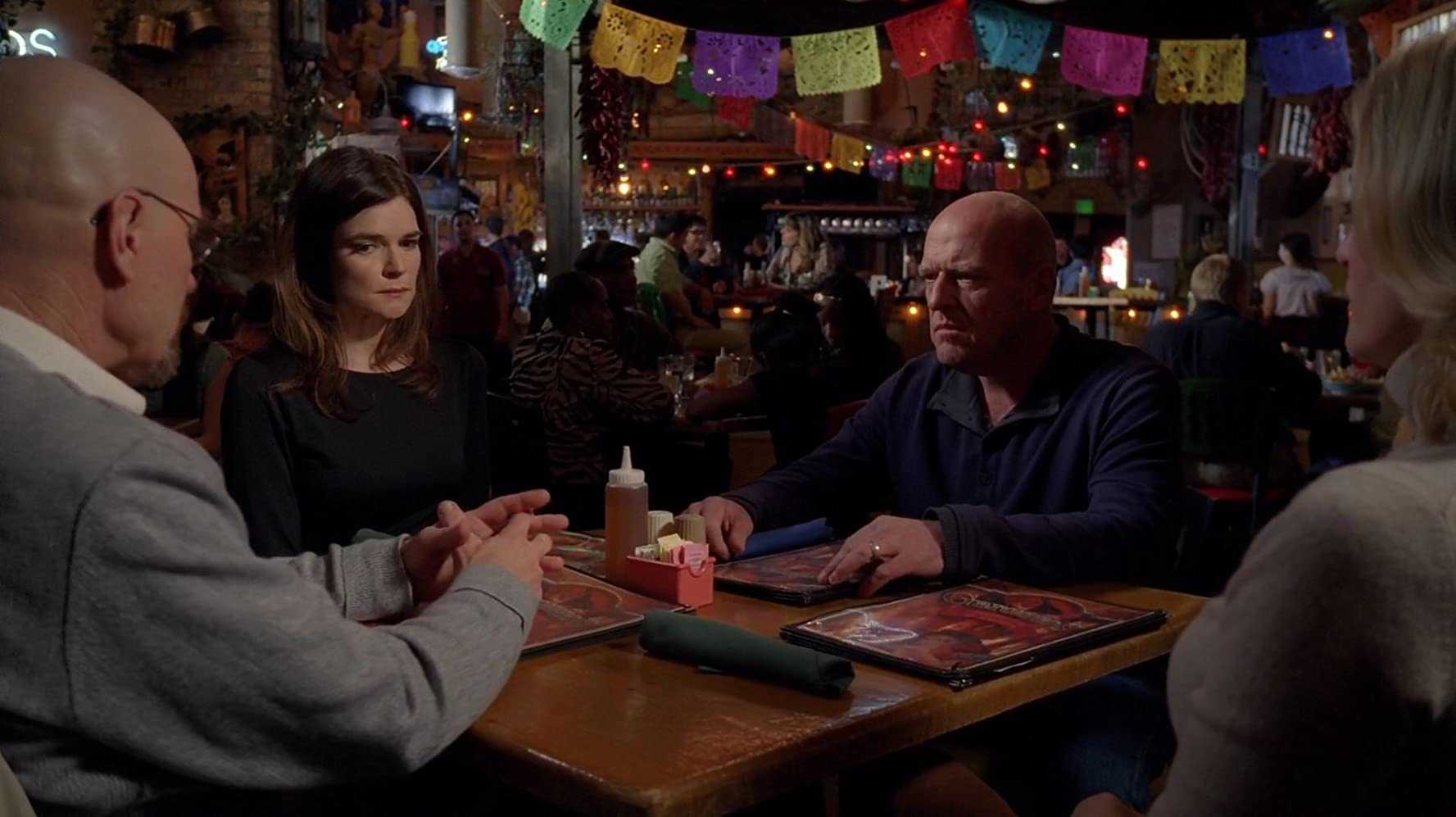 Dean Norris and Betsy Brandt in Breaking Bad (2008)