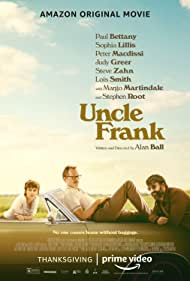 Paul Bettany, Peter Macdissi, and Sophia Lillis in Uncle Frank (2020)