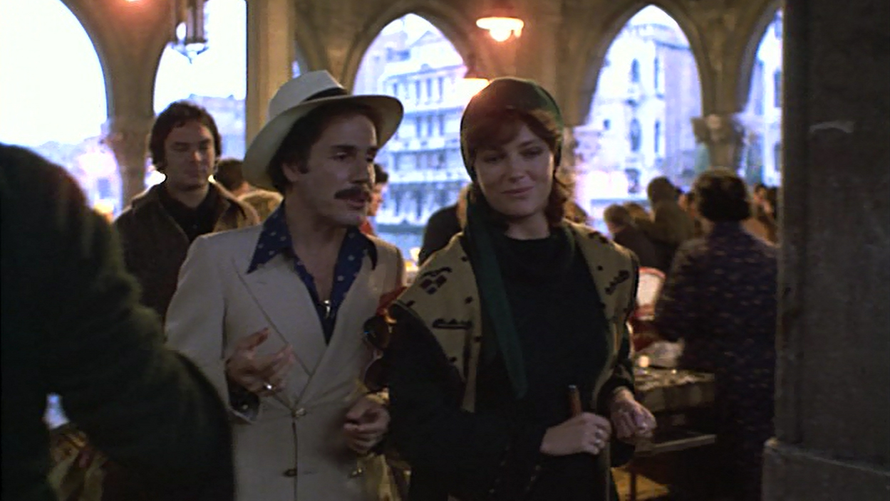 Jacqueline Bisset and Stefano Satta Flores in Who Is Killing the Great Chefs of Europe? (1978)