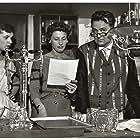 Irene Hansen, Helge Kjærulff-Schmidt, and Inger Larsen in Familiehaven (1956)