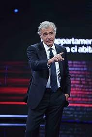 Massimo Giletti in Non è l'Arena (2017)