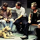 Moritz Bleibtreu, Martin Feifel, and Martin Semmelrogge in Agnes und seine Brüder (2004)