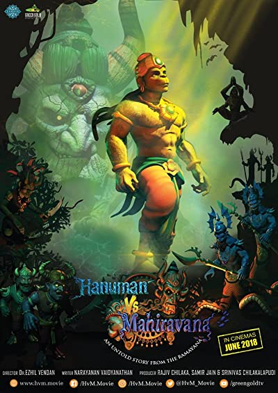 Hanuman Vs Mahiravana 2018 Full Hindi Movie Download 300MB 480p HDRip