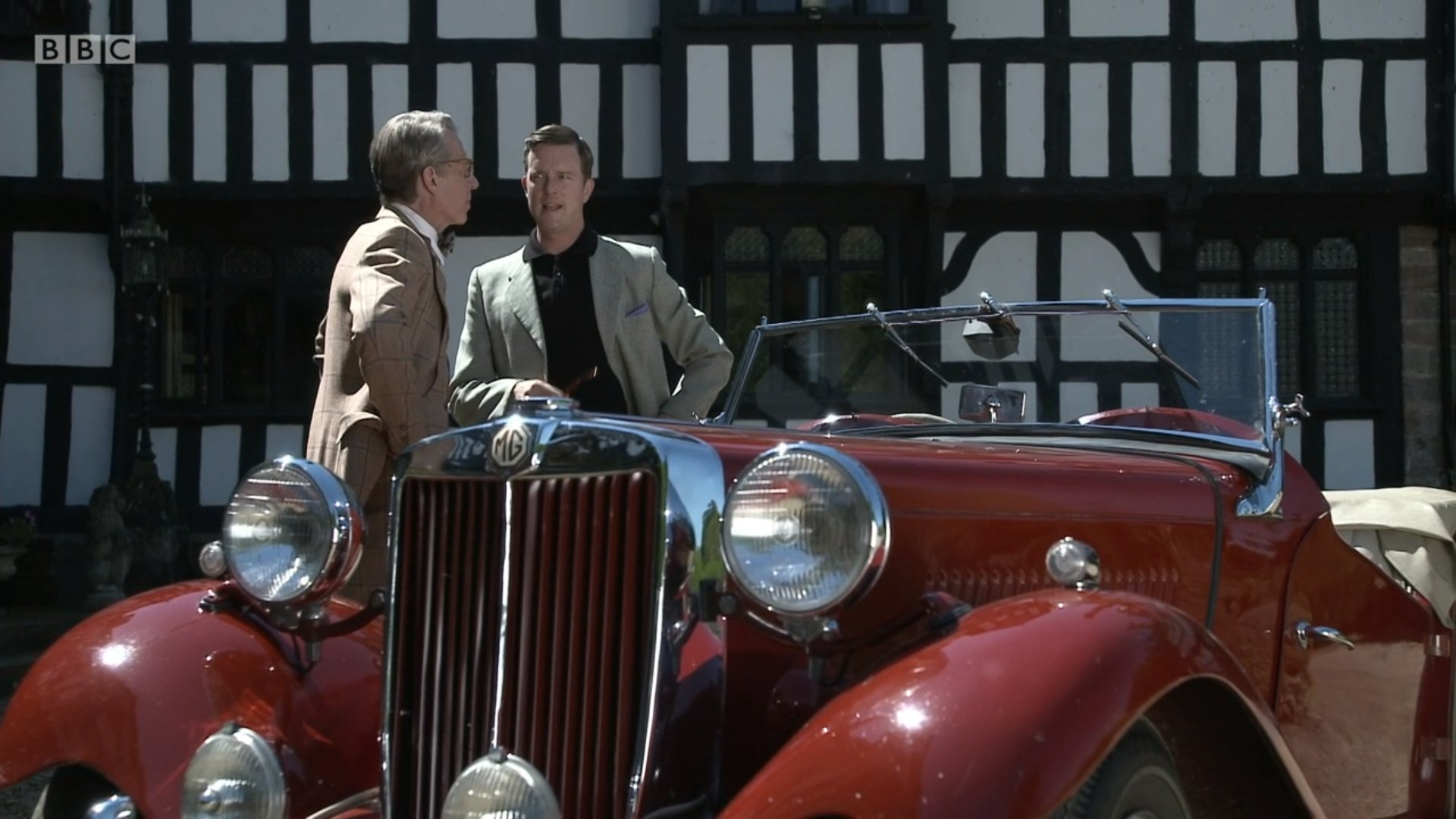 Stephen Boxer and Mark Dexter in Father Brown (2013)