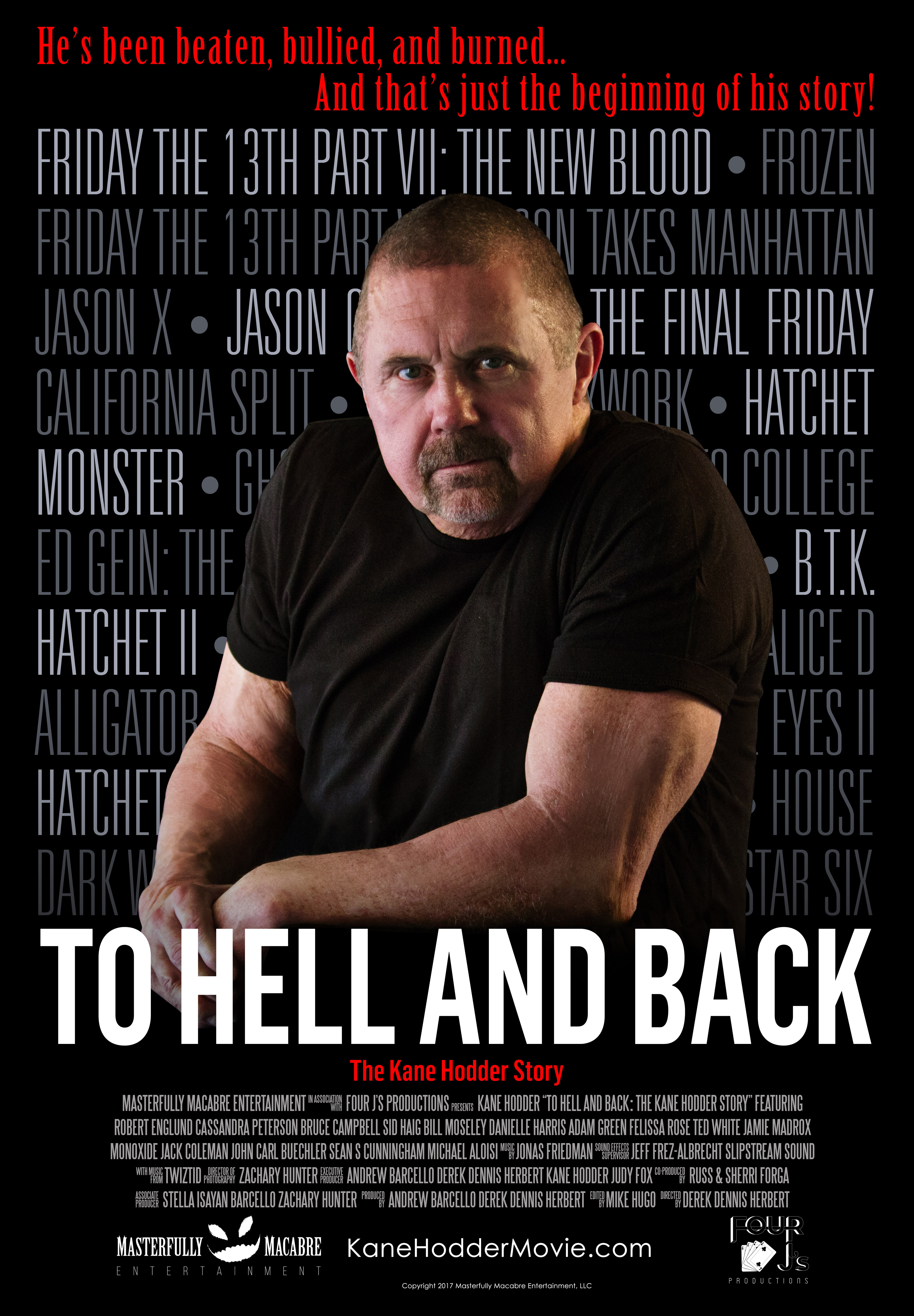 To Hell and Back: The Kane Hodder Story (2017) BluRay 720p & 1080p