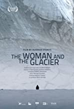 Woman and the Glacier