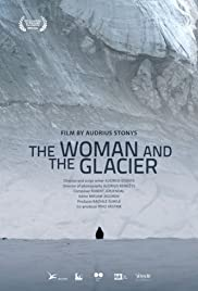 Woman and the Glacier Poster