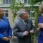 Chris Stanton, Pollyanna McIntosh, and Channelle Owen in M.I.High (2007)