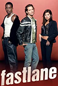 Bill Bellamy, Peter Facinelli, Tiffani Thiessen, and Mo McRae in Fastlane (2002)