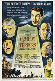 The Comedy of Terrors (1964) Poster - Movie Forum, Cast, Reviews