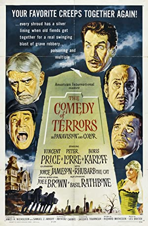 Where to stream The Comedy of Terrors