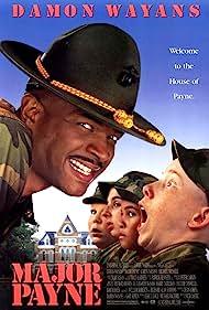 Damon Wayans, Orlando Brown, Peyton Chesson-Fohl, Stephen Coleman, and Chris Owen in Major Payne (1995)