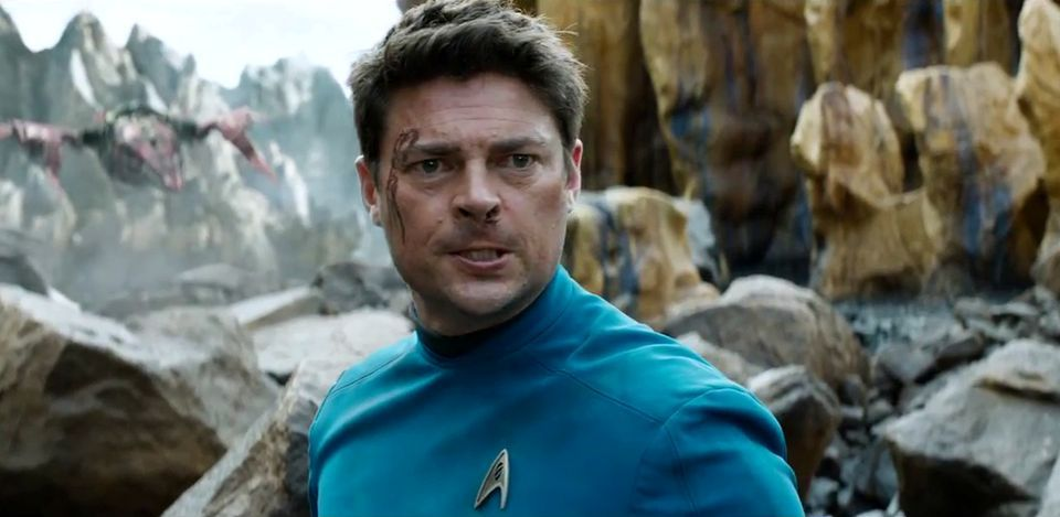 Karl Urban in Star Trek: Beyond (2016)
