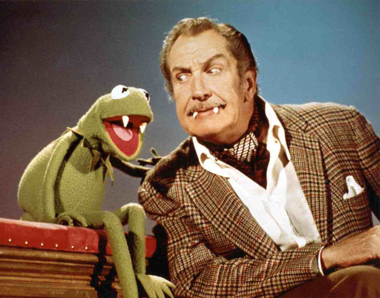 """The Muppet Show"""" Vincent Price (TV Episode 1977) - IMDb"""