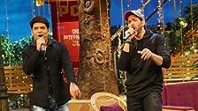 Team Kaabil in Kapil's Show