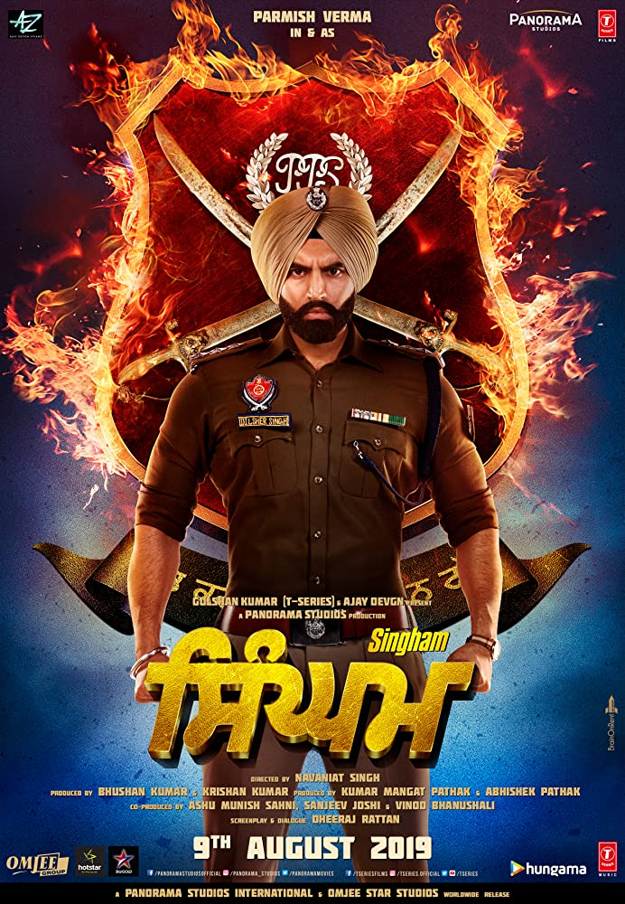 Singham 2019 Punjabi Movie PreDvd 300mb 480p 1.2GB 720p