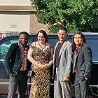 Pineda Joshua, Leo Gann, Emmanuel Ndejito, and Ginifer Ree at an event for Alejandro (2021)