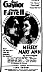 Merely Mary Ann (1931) Poster