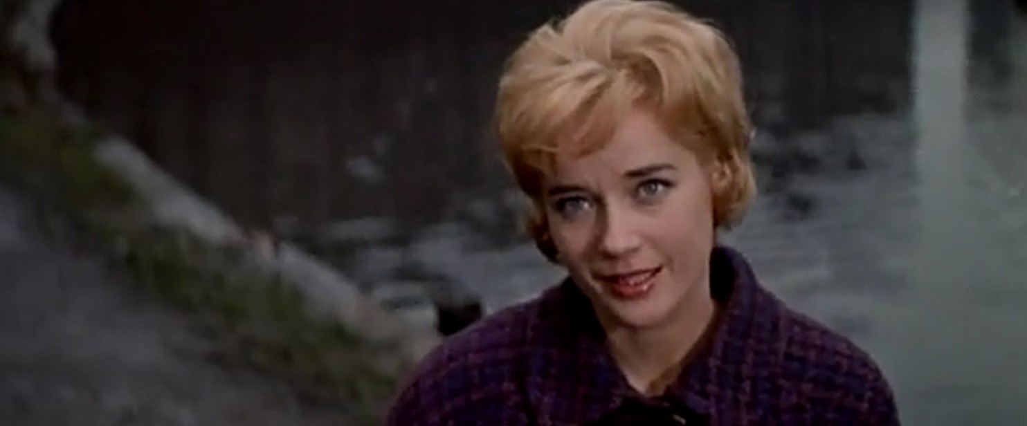 Sylvia Syms in Flame in the Streets (1961)