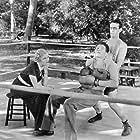 Harold Lloyd, Lionel Stander, and Verree Teasdale in The Milky Way (1936)