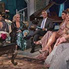 Andy Cohen, Jennifer Aydin, Jackie Goldschneider, Teresa Giudice, Melissa Gorga, Dolores Catania, and Margaret Josephs in The Real Housewives of New Jersey (2009)