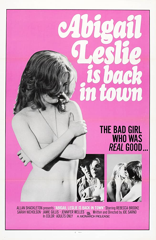 18+ Abigail Lesley Is Back in Town 1975 English Movie 350MB HDRip