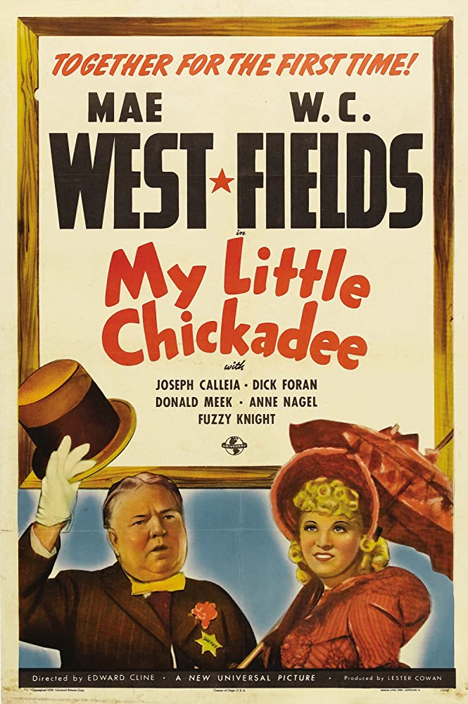 W.C. Fields and Mae West in My Little Chickadee (1940)