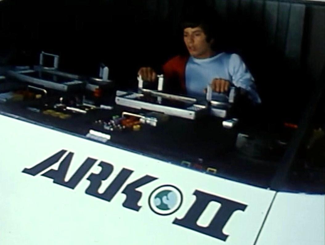 José Flores in Ark II (1976)