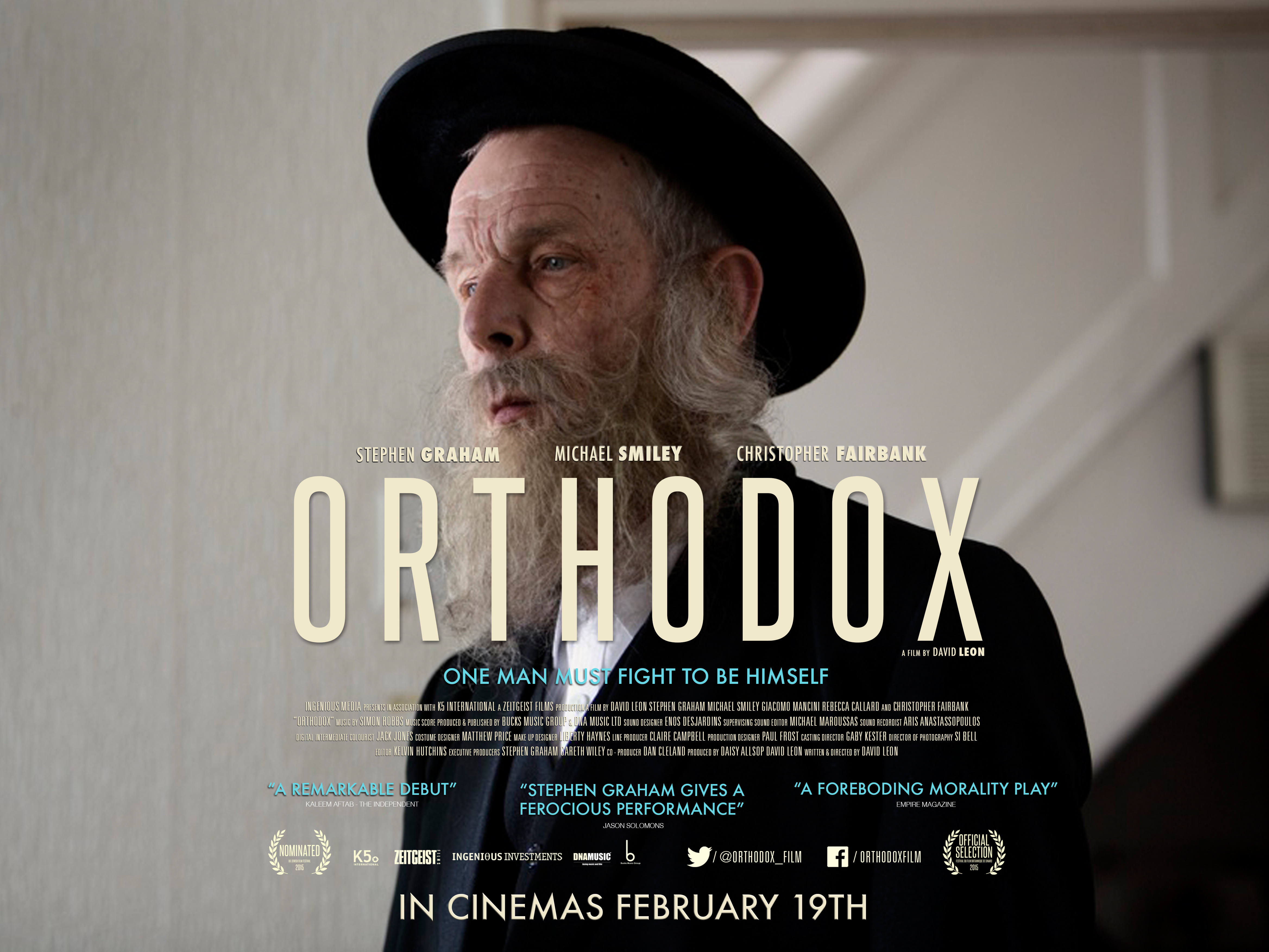 Christopher Fairbank in Orthodox (2015)
