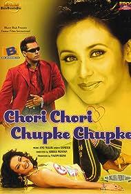 Preity Zinta, Salman Khan, and Rani Mukerji in Chori Chori Chupke Chupke (2001)