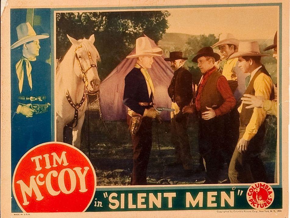 Tim McCoy in Silent Men (1933)