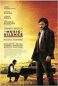 Antonio Banderas and Toby Sebastian in La musica del silenzio (2017)