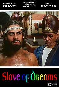 Edward James Olmos and Adrian Pasdar in Slave of Dreams (1995)