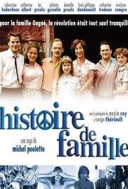 Histoire de famille Poster
