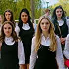 Natalie Malaika, Kaitlyn Bernard, Keilani Elizabeth Rose, Brenna Llewellyn, Carly Fawcett, Brenna Coates, and Jasmine Randhawa in The Color Rose (2020)